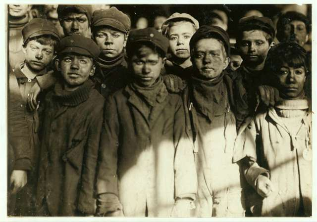 group-of-breaker-boys-in-9-breaker-hughestown-borough-pennsylvania-coal-co-location-pittston-pennsylvania-january-1911