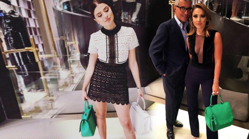 Hadise ve Derya Açıkgöz Milano Moda Haftası'nda…