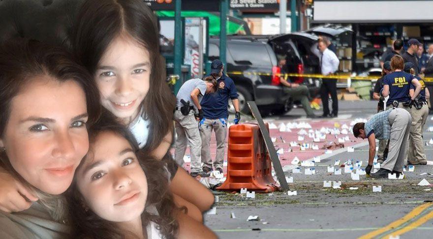 Zeynep Ilıcalı ve kızları New York patlamasında oradaydı