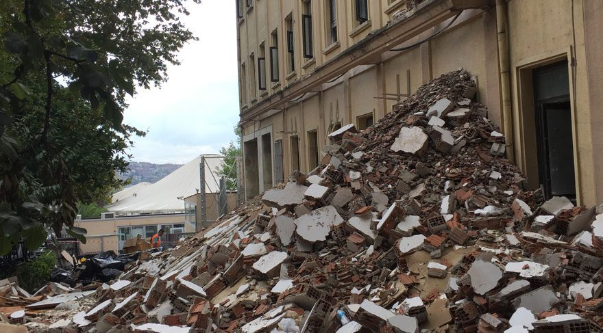 Kumpas davalarının binası yenileniyor
