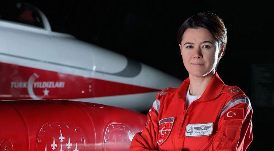 TSK'da ilk kadın filo komutanı Binbaşı Esra Özatay oldu