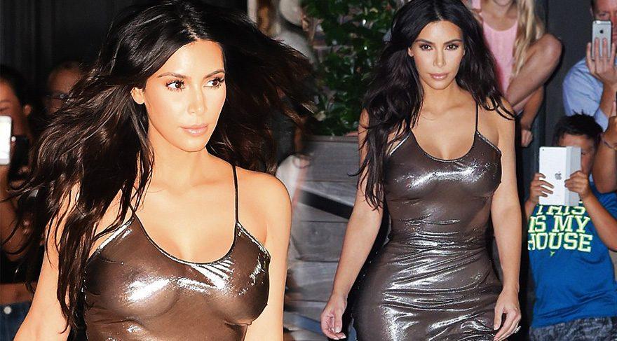 Kim Kardashian'dan olay yaratan şeffaflık