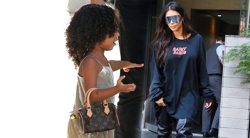 North West, annesi Kim Kardashian'ın izinde