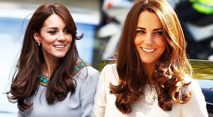 Kate Middleton'ın saç bakım sırları