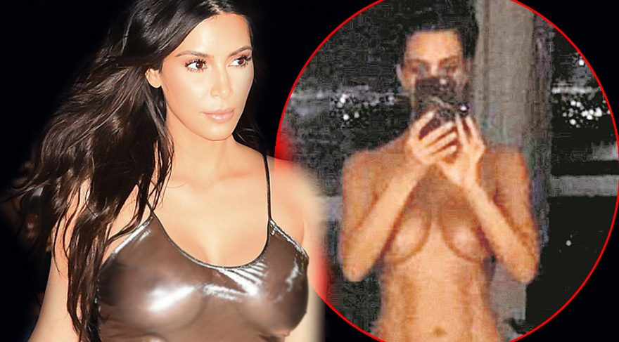 Kim Kardashian bizim için yapmış!