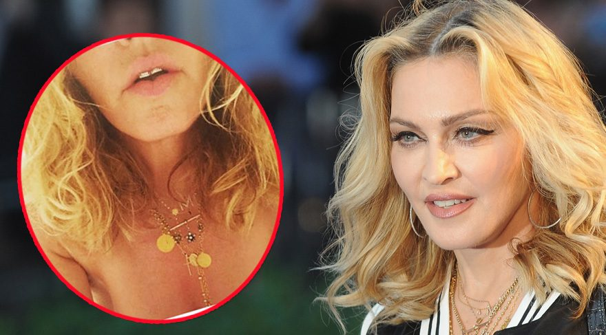 Madonna da Clinton için soyundu!