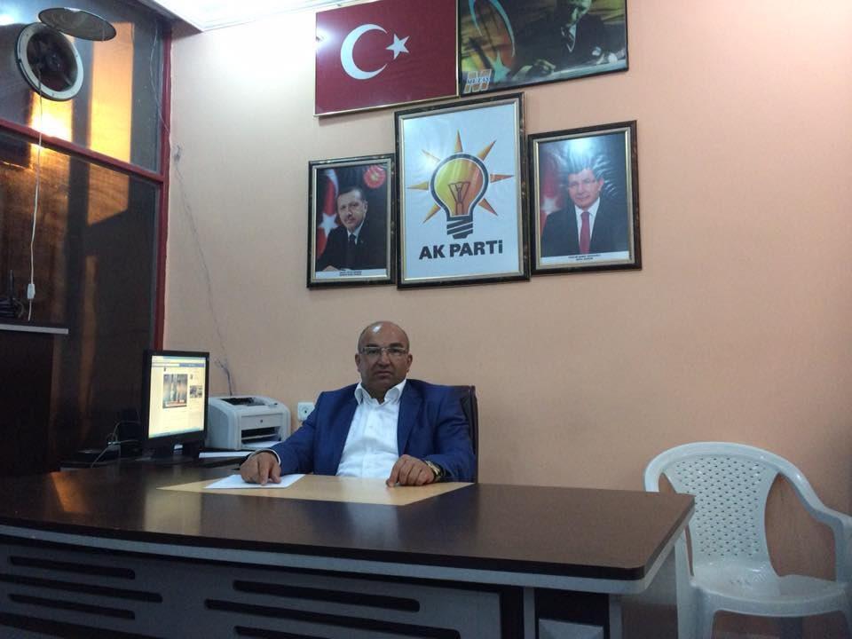 FOTO: DHA - AKP Manisa Selendi ilçe başkanı Muharrem Sezer FETÖ'den gözaltına alınmıştı.