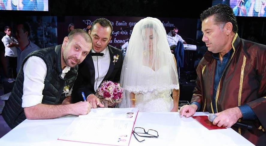 Nejat İşler nikah şahidi oldu