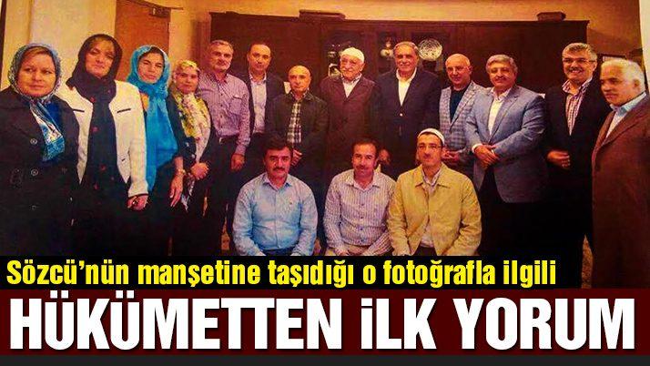 """Numan Kurtulmuş'dan """"Gülen'le görüşen AKP'liler"""" yorumu"""