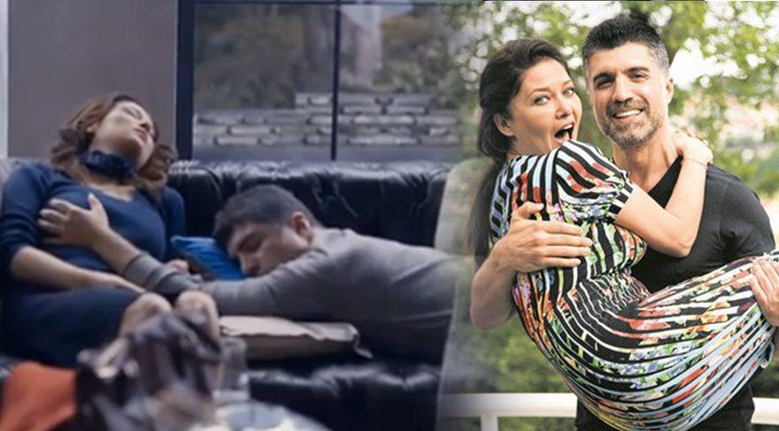 Nurgül Yeşilçay ve Özcan Deniz'in İkinci Şans filminin fragmanında çok konuşulacak sahne...