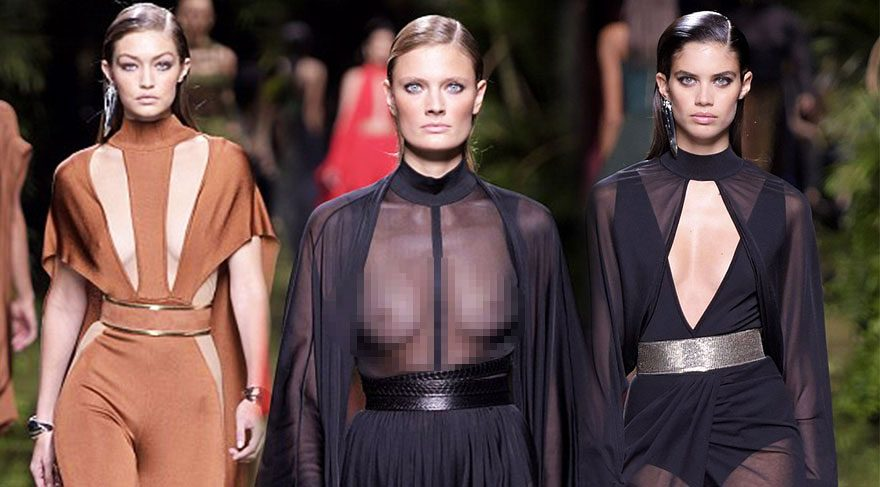 Balmain Paris Moda Haftası 2017 İlkbahar-Yaz defilesi