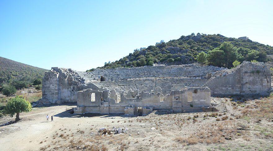 İş Bankası Grubu'ndan Patara Antik Kenti kazılarına destek