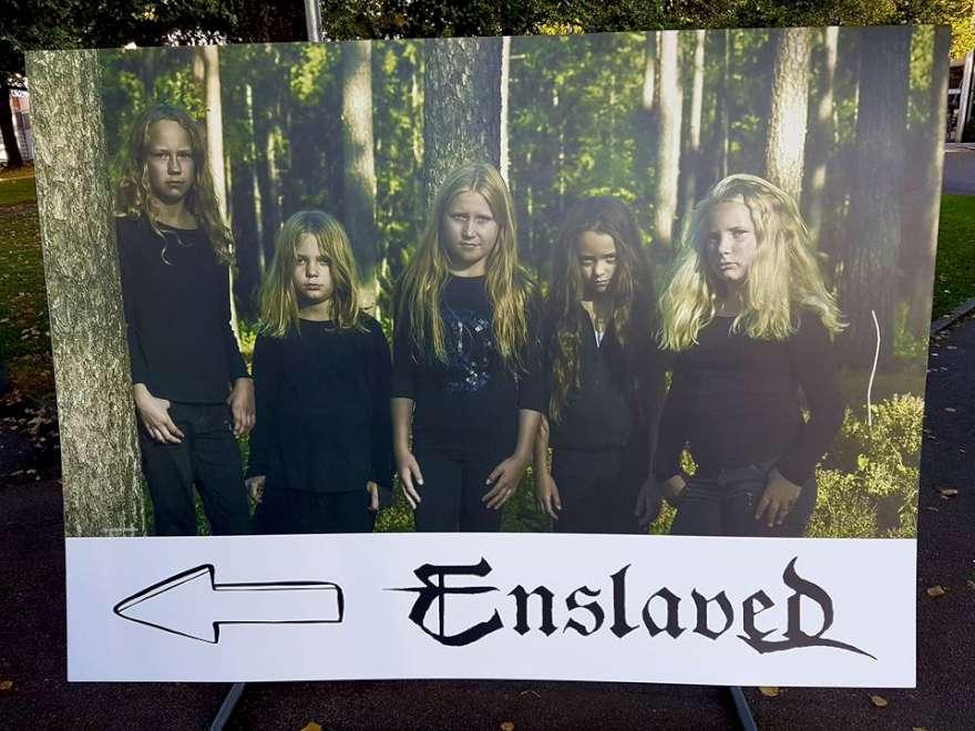 Projenin afişini Enslaved, sosyal medya hesaplarında yayımladı.