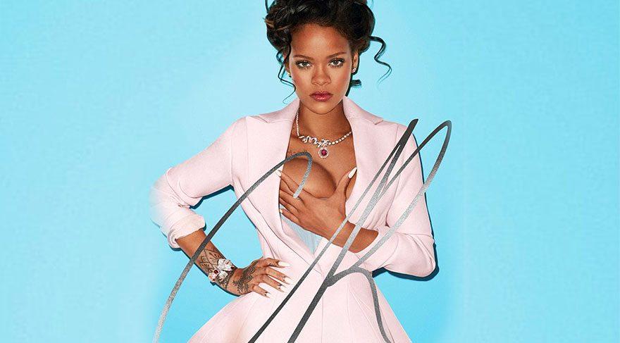 Rihanna kraliçe oldu