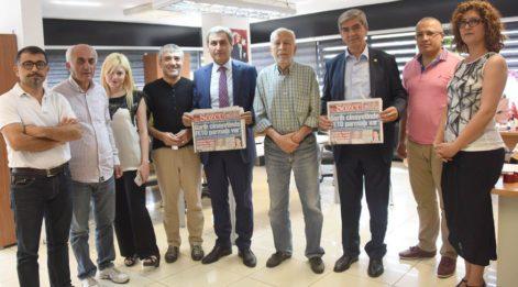 'Sözcü Türkiye'nin nefes borusudur'