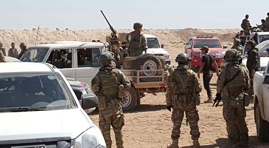 Fırat Kalkanı kapsamında Suriye'de bulunan ABD askerlerine büyük şok