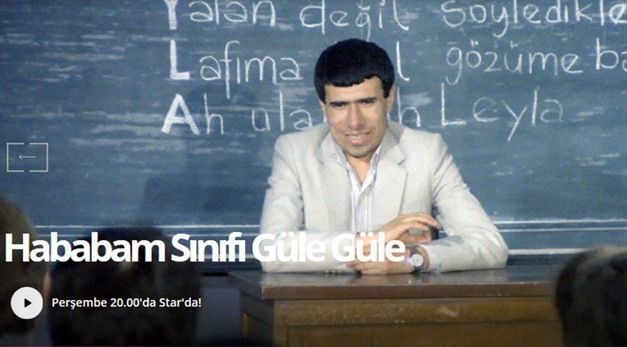 Star TV izle: Yayın akışı 15 Eylül 2016 – Hababam Sınıfı Güle Güle