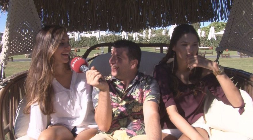 Miss Turkey 2015 güzelleri Dinçer Güner'e konuştu