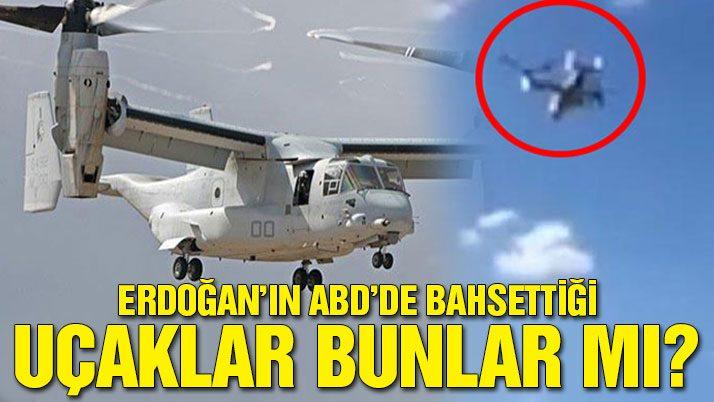 Erdoğan'ın gündeme getirdiği uçaklar bunlar mı?