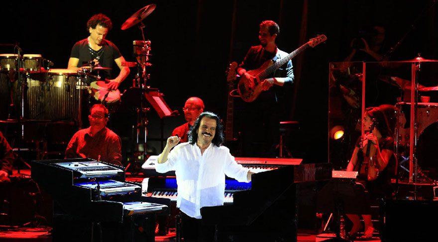 Yanni'den Antalya'da muhteşem konser