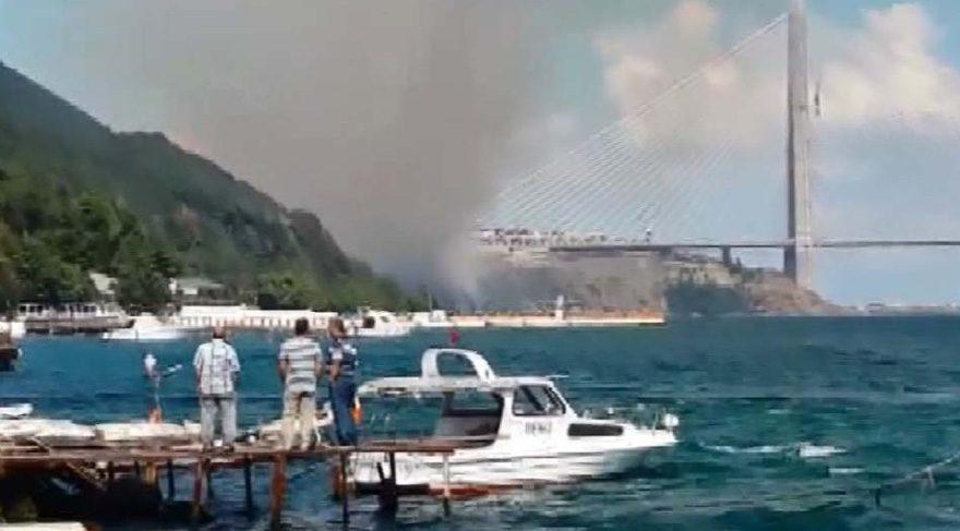 Son dakika haberi… 3. Köprü yakınında orman yangını
