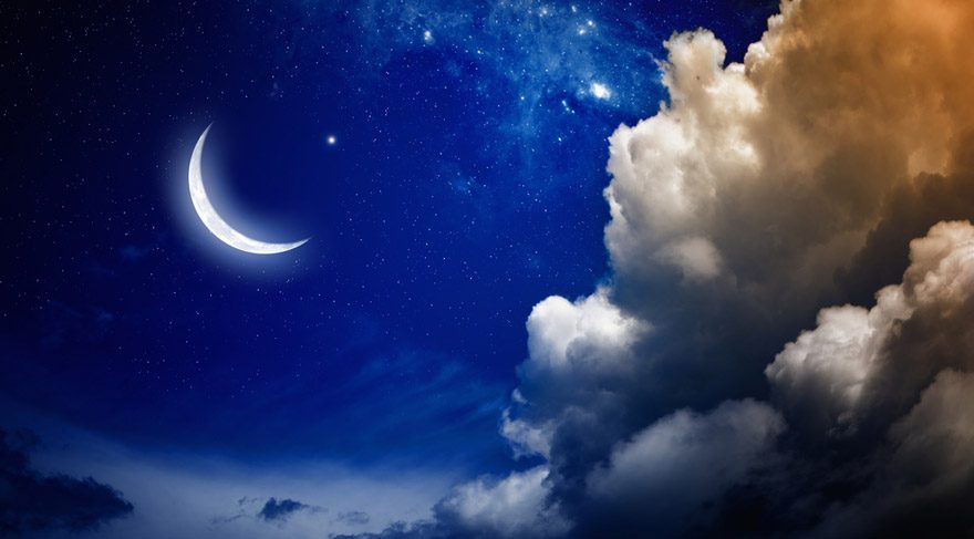 Terazi burcunda Jüpiteryen Yeni Ay