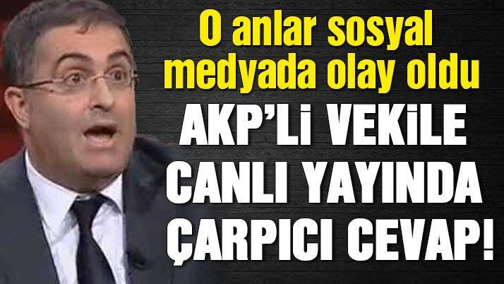 Ersan Şen ile AKP'li vekil arasında büyük tartışma