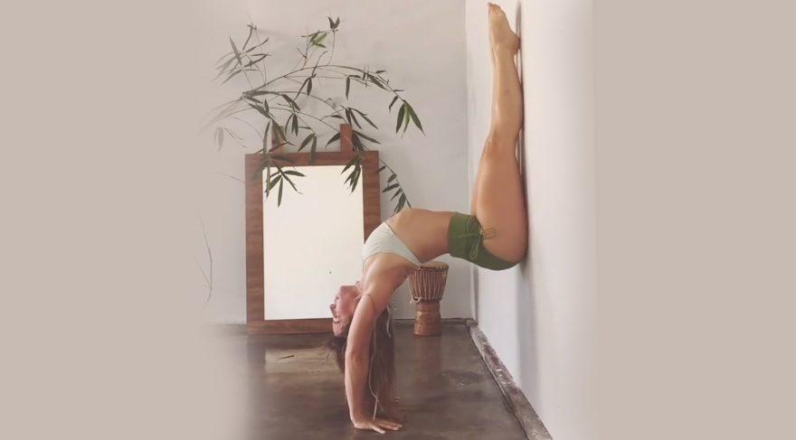 Sanatın ve yoganın birleşimi