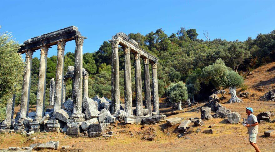 Zeus Tapınağı restorte edilecek