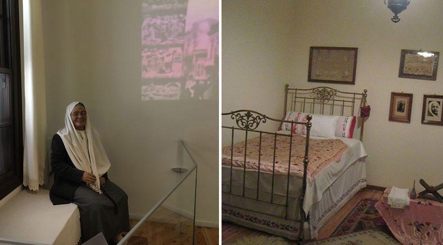 Solda yeni hali, sağda eski hali  Cevaplanamayan soru; Atatürk'ün eşyalarına ne oldu? 00asafas