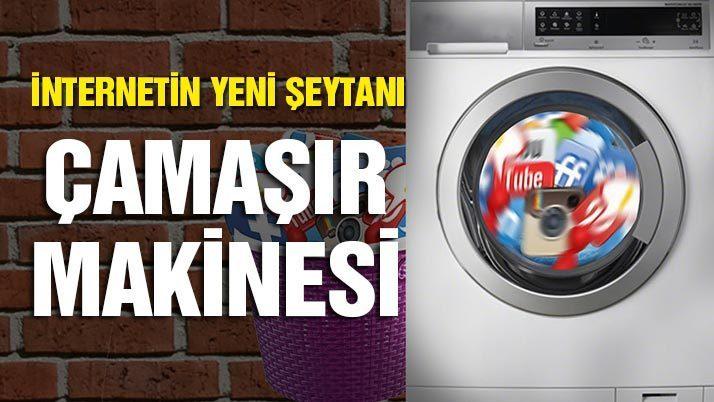 İnternetin yeni şeytanı: Çamaşır makinesi