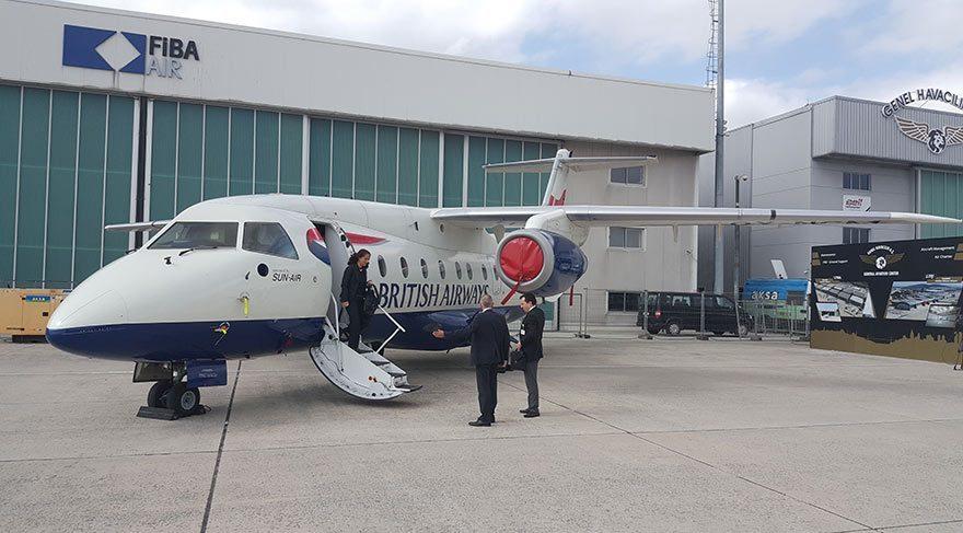 Fuarda büyük ilgi gören yerli yolcu uçağı TRJet'i arkadaşımız Taylan Büyükşahin inceledi ve British Airways personelinden bilgi aldı.