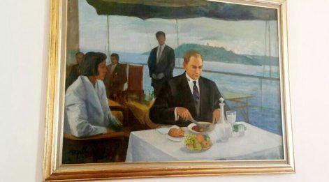 Meclis lokantasından da Atatürk tablosu kaldırıldı