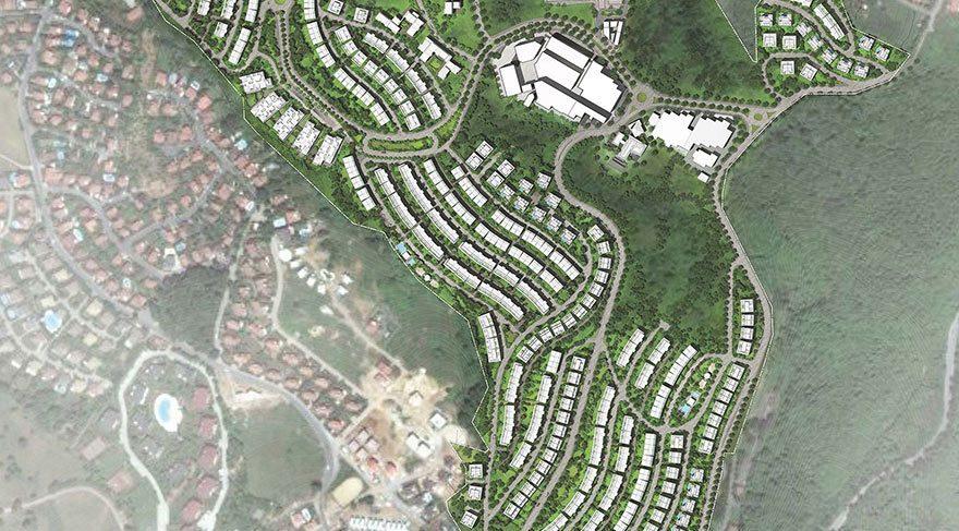 KÖY projesi bitince 500 dönüm arazi bin 167 ünitelik yapılarla dolacak.