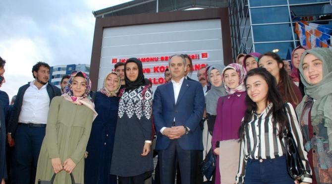 Bakan Kılıç, Ak Parti Siyaset Akademisi'nde ders verdi