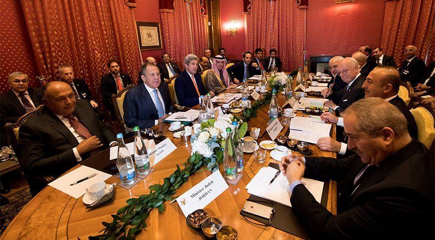 Kritik Suriye toplantısı sona erdi, Bakan Çavuşoğlu Türkiye'nin teklifini açıkladı