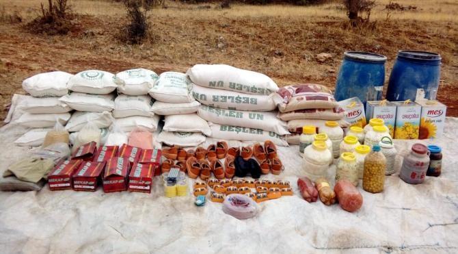 Siirt'te terör örgütü PKK'ya ait patlayıcı malzemesi ele geçirildi