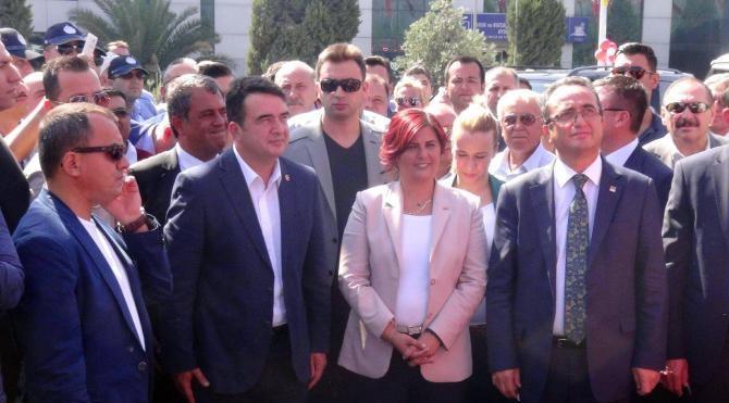 Aydın'da 15 Temmuz Demokrasi Kavşağı törenle açıldı