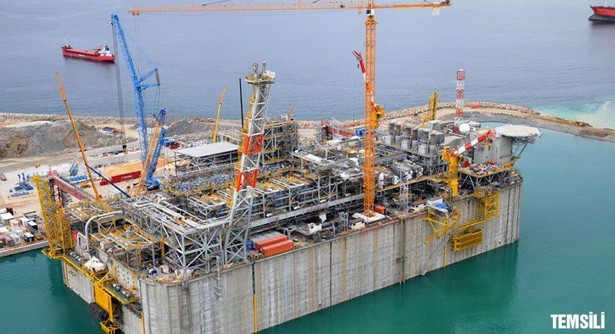 Marmara'ya yüzer LNG terminali