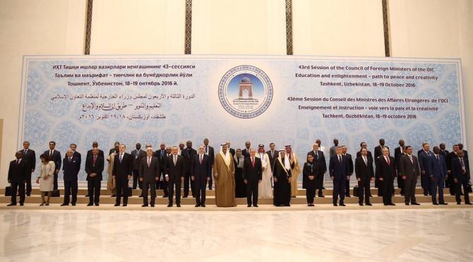 Çavuşoğlu: 'DAEŞ ve ideolojisini ortadan kaldırmak için İslam dünyasına büyük sorumluluk düşüyor'