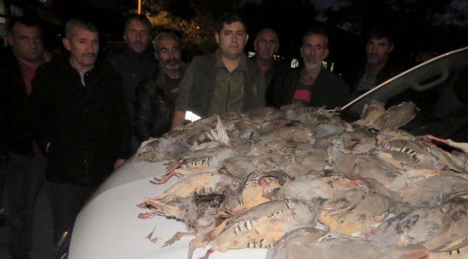 Erzincan'da 7 avcıya 27 bin TL ceza