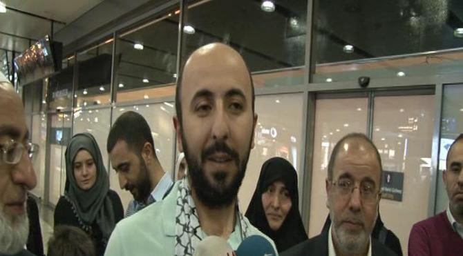 İsrail'de 21 gün gözaltında tutulan Orhan Buyruk Türkiye'ye döndü (1)