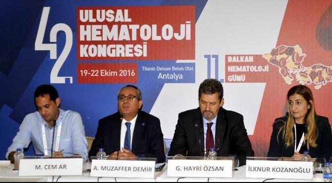 Ulusal Hematoloji Kongresi Belek'te yapıldı