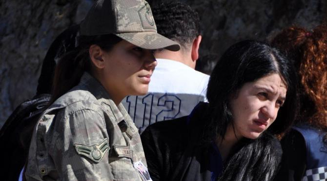 Kars'ta şehit olan Uzman Çavuş Onur Tunçel toprağa verildi