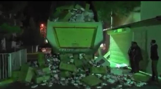 Tankerde 150 bin paket kaçak sigara ele geçirildi