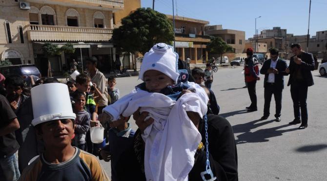 Şahinbey Belediyesi'nden Cerablus'ta 2 bin kişiye aşure
