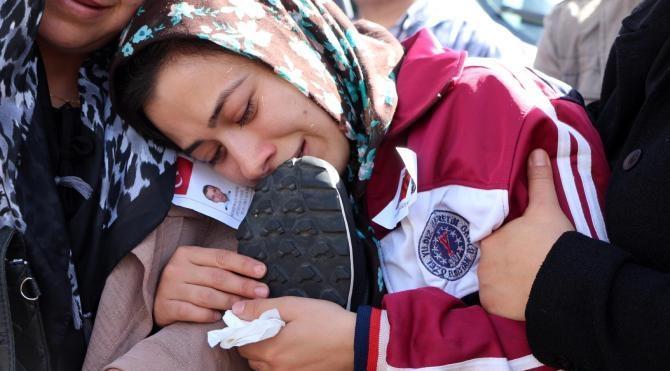 Gaziantep'te şehit polisler törenle memleketlerine uğurlandı