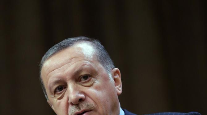 Cumhurbaşkanı Erdoğan : Sınırlarımızda Misakı Milli hedeflerimizi koruyamadık (2) (Yeniden)