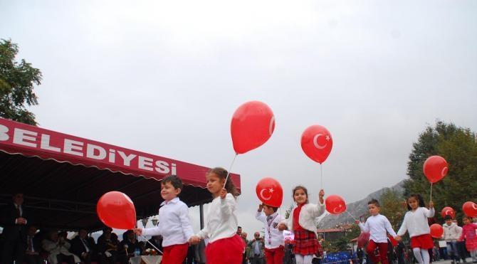 Amasya'da 29 Ekim coşkusu