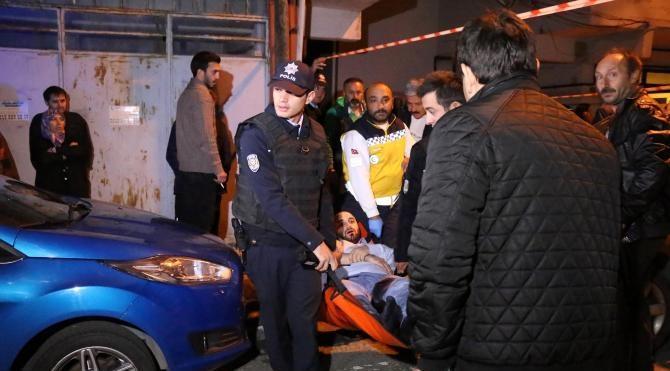 Sarıyer'de silahlı saldırı: 4 yaralı